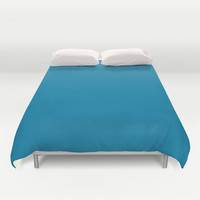 Cerulean Blue Duvet Cover - 007BA7 - Twin, King Queen Size Duvet - Blue Blanket - Blue Duvet - Blue Bedding
