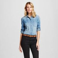 Women's Denim Favorite Shirt Medium Indigo - Merona™ : Target