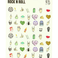 TEEN WITCH NAIL DECALS