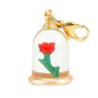 Disney Beauty And The Beast Enchanted Rose Charm