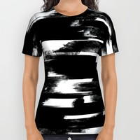 Glitch Panda All Over Print Shirt by HappyMelvin Graphicus