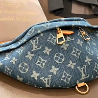 LV 2020 new denim canvas chest bag waist bag shoulder messenger bag
