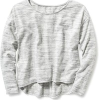 Old Navy Hi Lo Cropped Tee For Girls