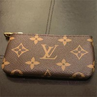 Louis Vuitton Monogram Canvas Key Pouch M62650 F