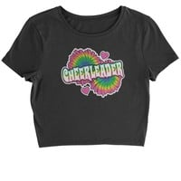 Cheerleader Cropped T-Shirt