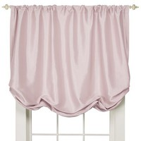 "Simply Shabby Chic® Faux Silk Balloon Shade - Pink (60x63"")"