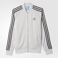 adidas Superstar Track Jacket - Grey | adidas US