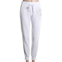 Guess Womens Juniors Graphic Flat Front Lounge Pants