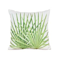Leaf 3 Hand-painted 20x20 Outdoor Pillow