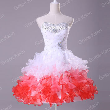 CHEAP ! Short Mini Dress Prom Cocktail Evening Party Wedding Homecoming Dresses