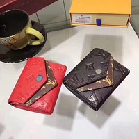 LV Louis Vuitton WOMEN'S LEATHER WALLET