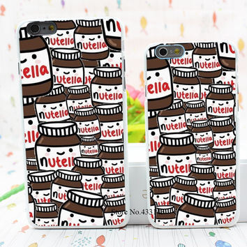 nutella Style Hard White Cover Skin Back Case for iPhone 6 6s 6 plus