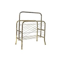 Pre-owned Art Deco Brass Magazine Rack