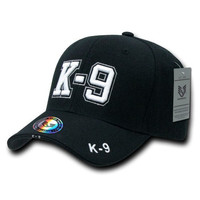 Rapiddominance K-9 DeLuxe Law Enforcement Cap, Black
