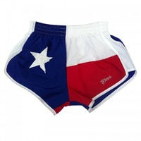 Tyler's  :: YOUTH :: APPAREL :: ATHLETIC SHORTS :: TX FLAG RACER-G