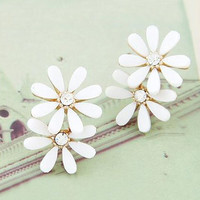 Daisy Pendant Earrings