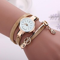 Gold Wrist Watch Women Watches Relogio Feminino 2017 Famous Brand Female Clock Quartz Watch Ladies Quartz-watch Montre Femme