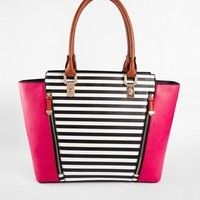 New Look | New Look Willow Tote with Stripe at ASOS