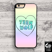 Teen Wolf case for iphone 5s 6s case, samsung, ipod, HTC, Xperia, Nexus, LG, iPad Cases