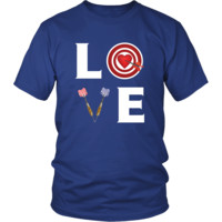 Darts - LOVE Darts  - Darts Hobby Shirt