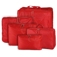 5 Sizes/set Home Travel Clothes Underwear Socks Storage Bags Packing Cube Luggage Bag Organizer For You 5pcs