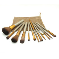 12 Piece Makeup Brush Set