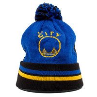 Mitchell and Ness Knit Beanie Golden State Warriors | Two Tone Beanie