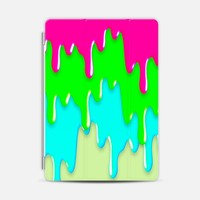 Funny Melting Icecream Neon Pink Green Teal iPad Mini case by Girly Road | Casetify