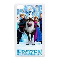 Hardshell Stronge Protective iPod 4 Case Cover for Apple iPod Touch 4th Generation-Frozen Movie Anna Snow Queen Kristoff Olaf Prince Hans-2