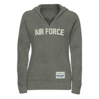 Air Force Falcons Ladies Legacy Pullover Hoodie - Gunmetal