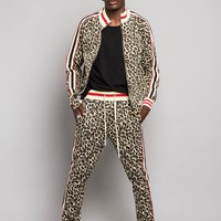 Leopard Track Suit Set