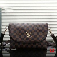 LV tide brand female classic print logo shoulder bag handbag Messenger bag