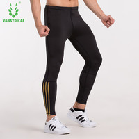 Men Compression Pants Running Run Jogging Jogger Fitness Outdoor Excercise Bodybuilding Gym Athletic Compression Pants