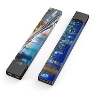 CityLife Blur - Premium Decal Protective Skin-Wrap Sticker compatible with the Juul Labs vaping device