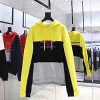 cc hcxx Vetements Hoodies Yellow