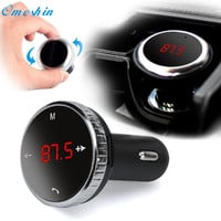 Adroit Wireless Bluetooth LCD FM Transmitter Modulator Car Kit MP3 Player SD w Remote 8S61103 drop shipping