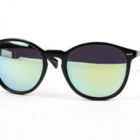 Vanessa Blue and Gold Sunglasses