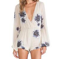 Winston White Joey Provence Romper in Ivory
