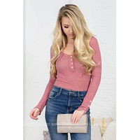Lola Ribbed Basic Top | Colors