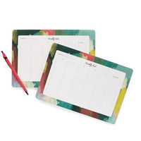 Paint Strokes Desk Pad