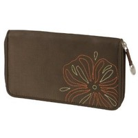 Travelon Rfid Wallet,Brown,One Size