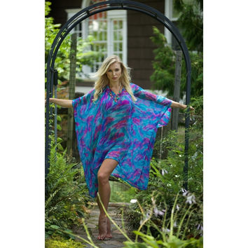 Blue and Pink Caftan