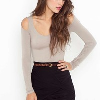 Ruched Knot Skirt - Black