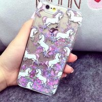 Lucky Unicorn Phone Case Cover for Apple iPhone 7 7 Plus 5S 5 SE 6 6S 6 Plus 6S Plus + Nice gift box! LJ160926-004