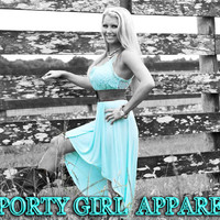 WEstern or beachy this lace mint high low dress is beautiful pair with boots or sandals its the perfect mint lace western dress