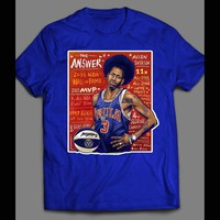 PHILLY'S FINEST ALLEN IVERSON THE ANSWER #3 OLDSKOOL T-SHIRT