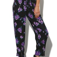 Some Days Lovin Ladyland Floral Pants - Womens Pants - Multi -