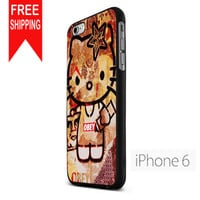 Obey Hello Kitty NDR iPhone 6 Case