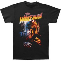 Wolfman Men's  Wolfman Purple T-shirt Black