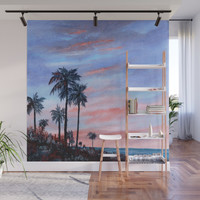 Florida Sunset Wall Mural by rosiebrown
